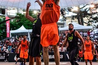 7 Jure Eržen (SLO) - 5 Mensud Julević (SLO) - 6 Nolan Brudehl (CAN) - 3 Michael Linklater (CAN) - 5 Michael Lieffers (CAN) - Saskatoon v Kranj, 2016 WT Lausanne, Semi final, 27 August 2016