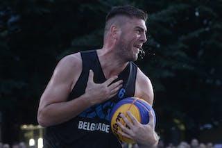 Ljubljana v Belgrade, 2016 WT Prague, Pool, 6 August 2016