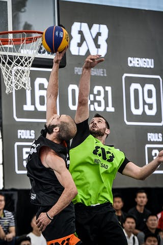 6 Stefan Kojic (SRB) - 6 Karl Noyer (NZL)