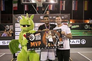 MVP DIMEO VAN DER HORST 3x3 Ljubljana Challenger