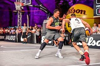 4 Lazar Rasic (SRB) - 5 Yino Martinez (SUI) - Zemun v Lausanne, 2016 WT Lausanne, Pool, 26 August 2016