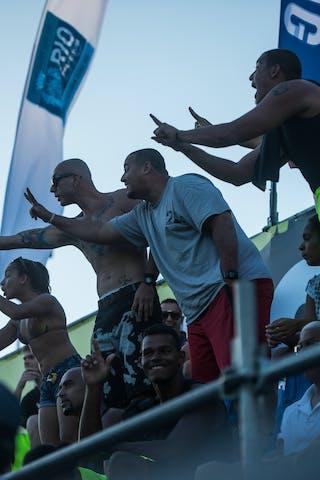 Fans 2013 FIBA 3x3 World Tour Rio de Janeiro