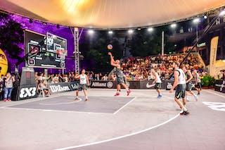 3 Marco Lehmann (SUI) - 6 Nemanja Draskovic (SRB) - 5 Nikola Vukovic (SRB) - 4 Lazar Rasic (SRB) - 4 Derrick Lang (SUI) - Zemun v Lausanne, 2016 WT Lausanne, Pool, 26 August 2016