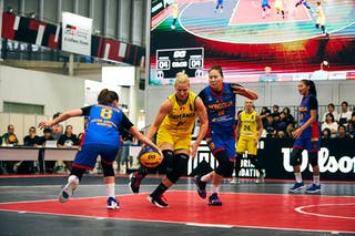 21 Ruxandra-diana Chis (ROU) - 10 Bolor-erdene Baatar (MGL) - 8 Chimeddolgor Enkhtaivan (MGL) - Game4_Pool A_Romania vs Mongolia