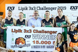 (Lipik Challenger 2019), price ceremony 1st place Vrbas