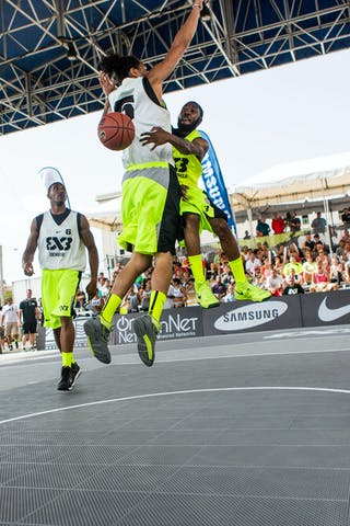 Philadelphia vs Denver at the San Juan Masters 10-11 August 2013 FIBA 3x3 World Tour, San Juan, Puerto Rico