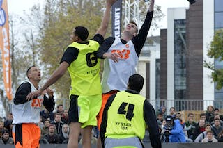 #5 Bretzovica (Slovenia) NY Staten (USA)  2013 FIBA 3x3 World Tour final in Istanbul