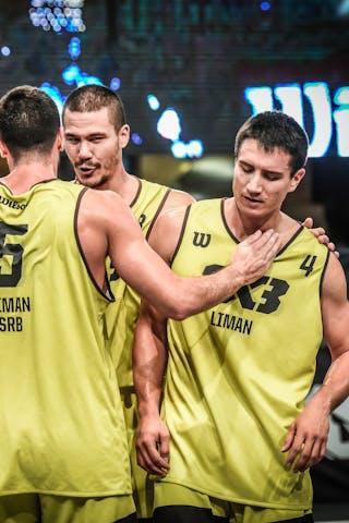 6 Stefan Kojic (SRB) - 5 Aleksandar Ratkov (SRB) - 4 Stefan Stojacic (SRB) - 3 Mihailo Vasic (SRB)
