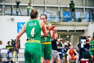 7 Keely Froling (AUS) - 4 Bec Cole (AUS) - Game5_Final_Netherlands vs Australia