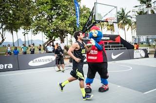 Mascota, FIBA 3x3 World Tour Rio de Janeiro 2014, Day 2, 28. September.