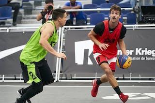 4 Stefan Stojacic (SRB) - 3 Mihailo Vasic (SRB) - 3 Charly Pontens (FRA)