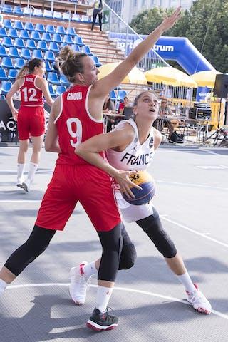 11 Ana Maria Filip (FRA) - 9 Marielle Giroud (SUI)