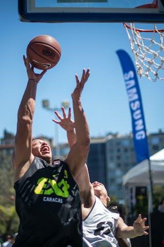 #5 Caracas (Venezuela) SP Sul (Brasil) 2013 FIBA 3x3 World Tour Rio de Janeiro