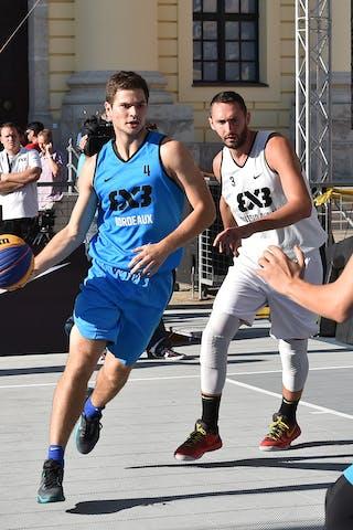 3 Marko Zdero (UAE) - 6 Charles Albert (FRA) - 4 Alex Vialaret (FRA) - Novi Sad Al Wahda v Bordeaux, 2016 WT Debrecen, Pool, 7 September 2016