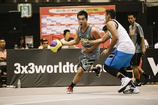 #3 Zhao Ning, Team Wukesong, FIBA 3x3 World Tour Final Tokyo 2014, 11-12 October.