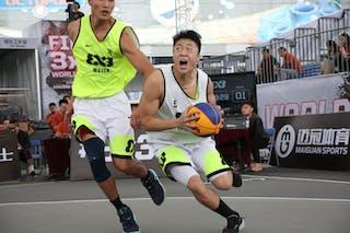5 Yanru Tao (CHN) - 6 Yuan Bo Zhu (CHN)