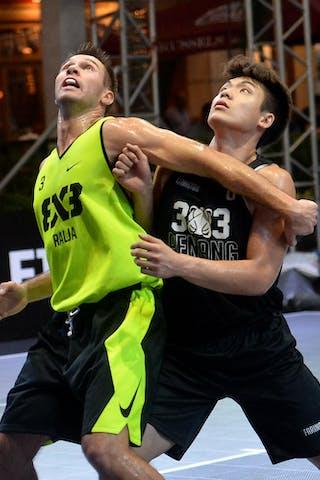 6 Hailiang Xiao (CHN) - 3 Marko Stojanovic (SRB)