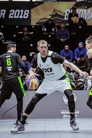3 Dan Mavraides (USA) - 1 Damon Huffman (USA) - 4 Stefan Stojačić (SRB) - 6 Stefan Kojic (SRB)