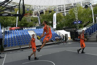 Team Amsterdam, FIBA 3x3 World Tour Lausanne 2014, 29-30 August.