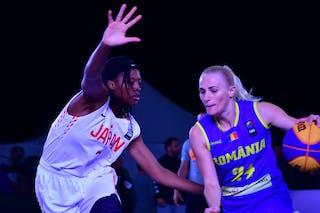 3 Stephanie Mawuli (JPN) - 24 Ancuţa Stoenescu (ROU)
