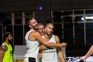 3 Dejan Majstorovic (UAE) - 4 Marko Zdero (UAE) - 6 Dusan Domovic Bulut (UAE) - Novi Sad Al Wahda v Al Gharafa, 2016 WT Utsunomiya, Pool, 30 July 2016