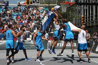 6 Zahir Carrington (USA) - 3 Daniel Mavraides (USA) - 6 Xavier Zambrana (PUR) - 3 Jorge Matos (PUR)