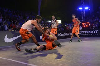 #6 Julevic Mensud, Team Kranj, Players, FIBA 3x3 World Tour Lausanne 2014, Day 2, 30. August.