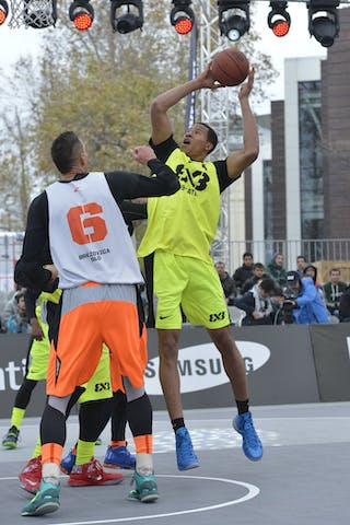 #6 NY Staten (USA) Brezovica (Slovenia)  2013 FIBA 3x3 World Tour final in Istanbul