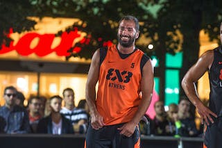 #5 Andreas Daskaloudis. Team Athens. 2014 World Tour Prague. 3x3 Game.