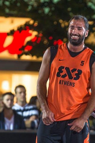 #5 Andreas Daskaloudis. Team Athens. 2014 World Tour Prague. 3x3 Game.