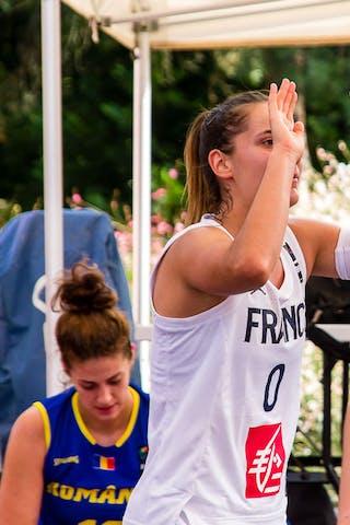 0 Lisa Berkani (FRA) - 17 Alexandra Uiuiu (ROU)