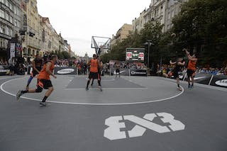 Novi Sad vs St Petersburg. 2014 World Tour Prague. 3x3 Game. 23 August. Day 1.
