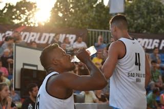 6 Leandro Souza De Lima (BRA) - 4 Luiz Felipe Soriani (BRA) - São Paulo DC v Amsterdam, 2016 WT Debrecen, Pool, 7 September 2016