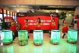 Opening gala dinner, FIBA 3x3 World Tour Beijing 2014, 2-3 August.