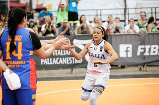 2 Raelin Marie D'alie (ITA)