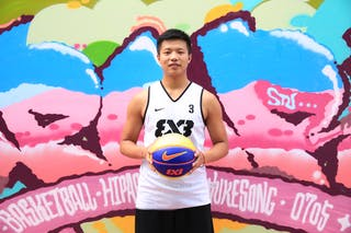 #3 Chunmao Niu, Team Xi'an, FIBA 3x3 World Tour Beijing 2014, 2-3 August.
