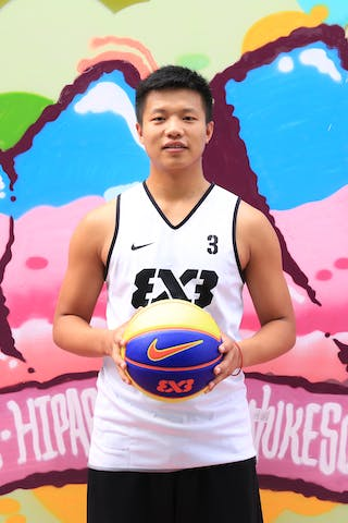 #3 Chunmao Niu, Team Xi'an, FIBA 3x3 World Tour Beijing 2014, 2-3 August.