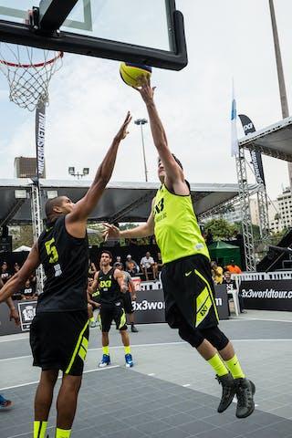 #4 Afonso Guilherme, Team Sao Paulo DC, FIBA 3x3 World Tour Rio de Janeiro 2014, 27-28 September.
