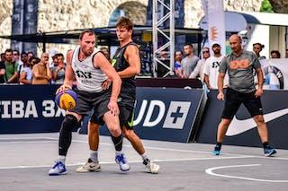 3 Filip Simic (SRB) - 3 Boris Jersin (SLO) - Kranj v Obrenovac, 2016 WT Lausanne, Pool, 26 August 2016