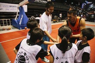 #5 Santana Angel, Team Bucharest, FIBA 3x3 World Tour Final Tokyo 2014, 11-12 October.