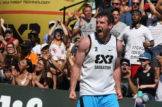 3 Steve Sir (CAN) - Saskatoon vs Gurabo in the FIBA 3x3 World Tour Saskatoon 2017 semi finals