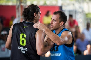 Marko ZDERO (Serbia); Marcio CARDOZO (Brazil). Team Novi Sad Al Wahda vs Team Chicago