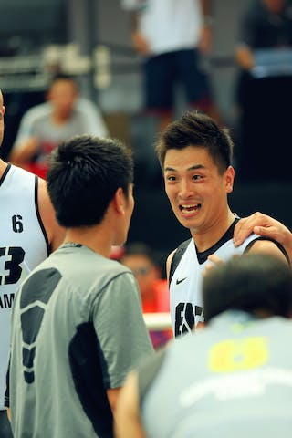 #6 Kyle Matthew, Team Yokohoma, 2014 World Tour Beijing, 3x3game, 03 August, Day 2.