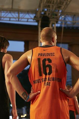 5 Dmitrii Kriukov (RUS) - 16 Nikola Pavlovic (UAE)