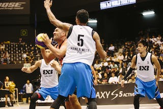 #5 Santana Angel, Team Bucharest, FIBA 3x3 World Tour Final Tokyo 2014, 11-12 October.