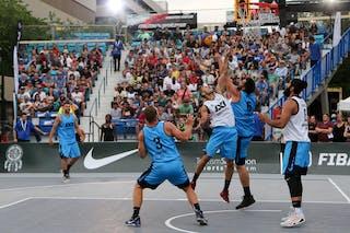 6 Bikramjit Gill (JPN) - 3 Inderbir Singh Gill (JPN) - 5 Ondřej Dygrýn (CZE) - 3 Ondřej šiška (CZE) - 6 Roman Zachrla (CZE) - Hamamatsu vs Humpalec at FIBA 3x3 Saskatoon 2017
