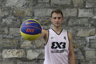 #4 Rass Marc, Team Dusseldorf, FIBA 3x3 World Tour Lausanne 2014, 29-30 August.