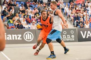 Bogdan DRAGOVIC (Team Zemun)- Ljubljana v Zemun, 2015 WT Lausanne, Pool, 28 August 2015