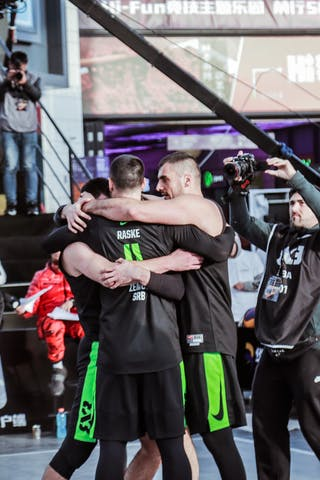 1 Damon Huffman (USA) - 7 Nikola Kovacevic (SRB) - 6 Nikola Vukovic (SRB) - 4 Lazar Rasic (SRB) - 3 Bogdan Dragovic (SRB)