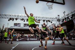 5 Jordan Demercy (CHN) - 4 James Mcleod (NZL) - Auckland v Wukesong, 2016 WT Beijing, Pool, 17 September 2016